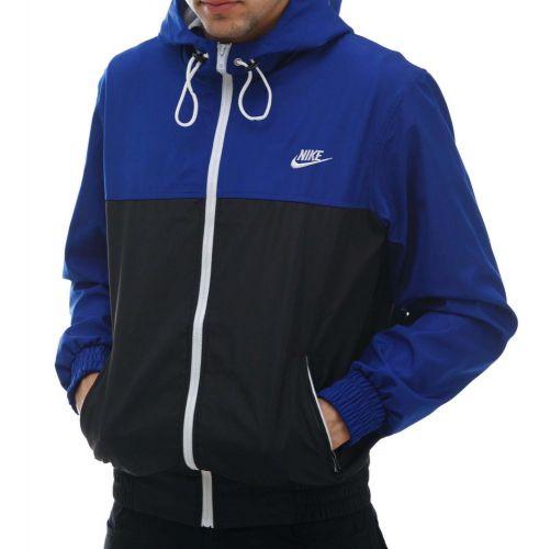 """Ветровка """"Nike"""" Сине-черная"""