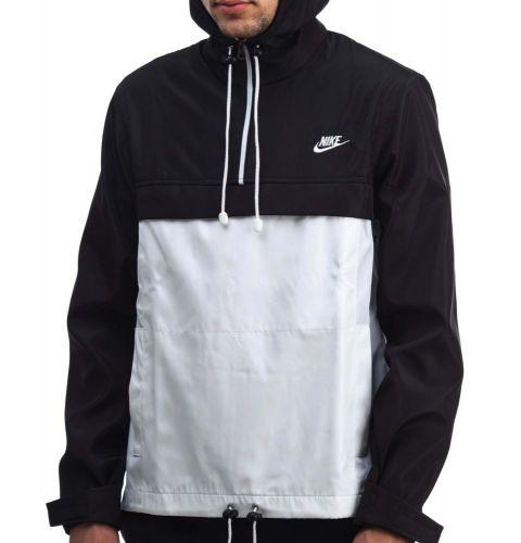 """Анорак """"Nike"""" Черно-белый"""