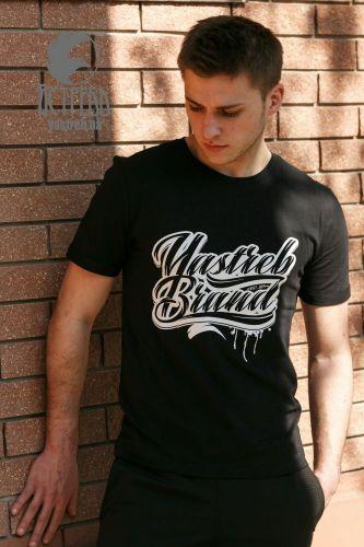 """Футболка """"Yastreb Brand"""" Черный"""
