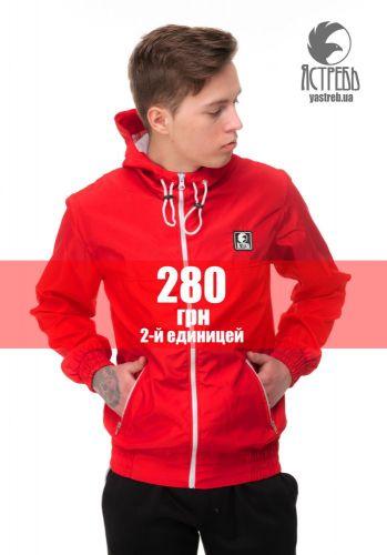 """Ветровка """"Ястребь"""" Красный"""
