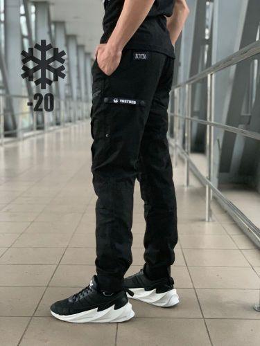 Штаны Straight (Зима) Черный
