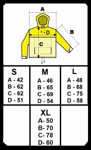 Размеры указаны всантиметрах