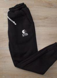 Штаны трикотажные (Зима) Черный