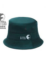 Панамка  темно Зеленая