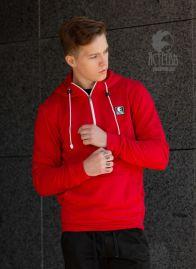 Кофта-Анорак (Без начеса) Красный