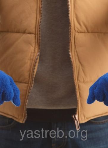 """Перчатки """"Ястребь"""" синие"""