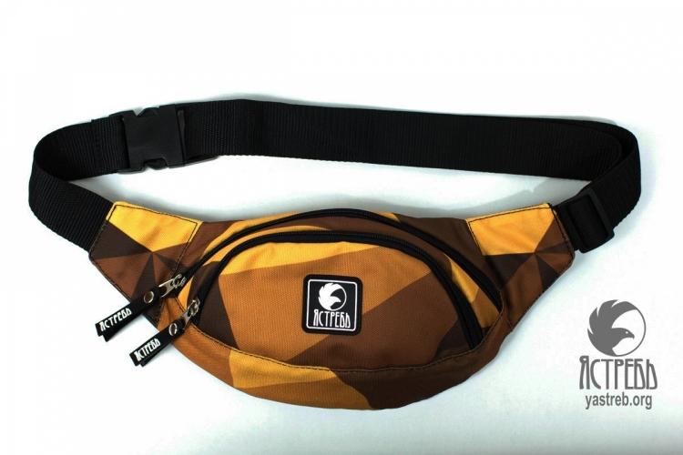 """Поясная сумка """"Ястребь"""" - Double pack Цвет № 8"""