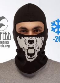 """Маска """"Ястребь"""" зимняя с начесом Волк"""