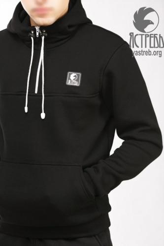 Кофта-Анорак черная (зима)