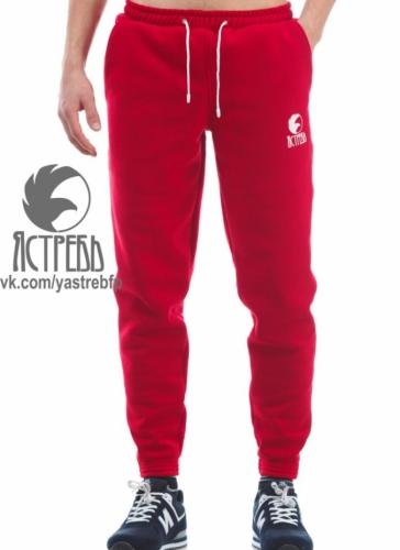 Штаны Ястреб Трикотажные (зима) красные