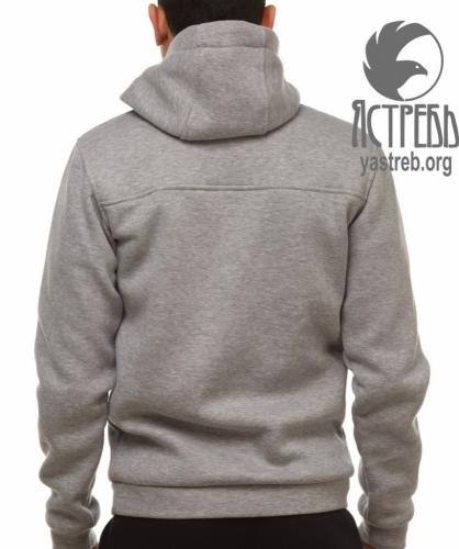 Кофта-Анорак (Hачес) Серый