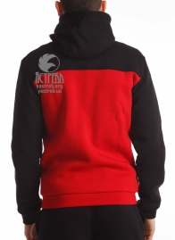 Кофта-олимпийка красно-черная (зима)